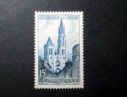 FRANCE 1958 N°1165 ** (CATHÉDRALE DE SENLIS. 15F BLEU FONCÉ ET BLEU) - Nuovi