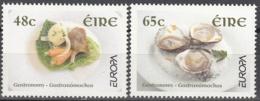 Eire 2005 Michel 1650 - 1651 Neuf ** Cote (2015) 3.50 Euro Europa CEPT La Gastronomie - Nuovi