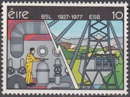 Eire 1977 Michel 368 Neuf ** Cote (2008) 0.50 Euro 50 Ans Société D'électricité - 1949-... République D'Irlande
