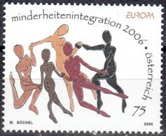 Österreich 2006 Michel 2605 Neuf ** Cote (2015) 2.50 Euro Europa CEPT L'intégration - 1945-.... 2ème République