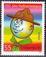 Österreich 2007 Michel 2671 Neuf ** Cote (2015) 1.70 Euro Europa CEPT Le Scoutisme - 1945-.... 2ème République