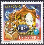 Österreich 2002 Michel 2376 Neuf ** Cote (2015) 3.00 Euro Europa CEPT Le Cirque - 1945-.... 2ème République