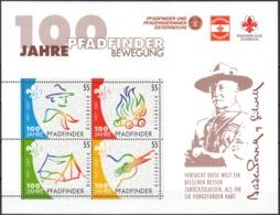 Österreich 2007 Michel Bloc Feuillet 36 Neuf ** Cote (2009) 4.40 Euro 100 Ans Scoutisme - Blocs & Feuillets