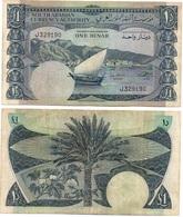 YEMEN South - 1 Dinar 1965 P. 3a VF Lemberg-Zp - Yemen