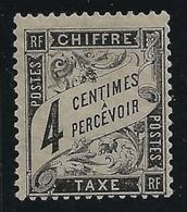 FRANCIA 1881 /92 - SEGNATASSE - CHIFFRE - TAXE N.° 13 Nuovo S.g. - Cat. 80 /45 € - L. 1586 - Segnatasse