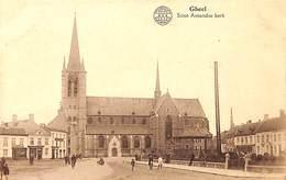 Geel Gheel - Sinte Amandus Kerk (animatie, Uitg. Aug. Arnouts) - Geel
