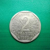 2 Francs Münze Aus Frankreich Von 1979 (sehr Schön) II - I. 2 Francs