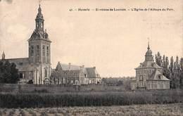 Heverlee - Environs De Louvain - L'Eglise De L'Abbaye Du Parc (A La Cantine, Café Restaurant Roelants 1913) - Leuven