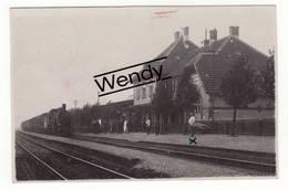 Rheinberg (originele Foto Stoomtrein In Station Rheinberg) - Wesel