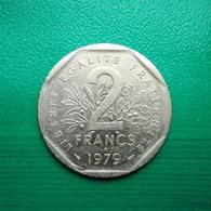 2 Francs Münze Aus Frankreich Von 1979 (sehr Schön) III - I. 2 Francs