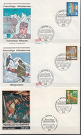 Germany Set On 6 FDCs From 1970 - Unclassified