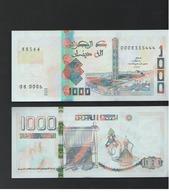 1000 Dinars 2018 Algerie Algeria New Unc - Algerije