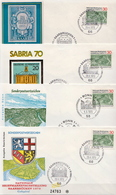 Germany 4 FDCs From 1970 - [7] Federal Republic