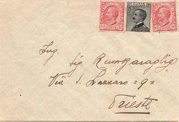 Busta Viaggiata Non Annullata ( 221 ) - 1900-44 Vittorio Emanuele III
