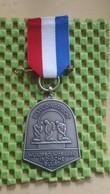 Medaille :Netherlands  -  Bevrijdingtocht. Indische Buurt , Amsterdam  / Vintage Medal - Walking Association - Nederland