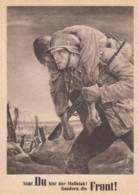 Deutsches Reich Postkarte Tag Der NSDAP 1943 - Briefe U. Dokumente