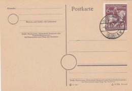 Deutsches Reich Postkarte 1945 - Briefe U. Dokumente