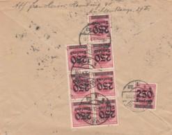 Deutsches Reich Brief INFLA 1923 - Gebraucht