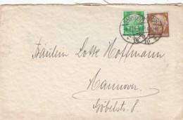 Deutsches Reich Firmenlochung / Perfin Brief 1934 MM - Briefe U. Dokumente