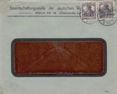 Deutsches Reich Brief Firmenlochung / Perfin 1919 KWS - Deutschland
