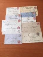 +++ Sammlung 10 Briefe Nord Deutscher Postbezirk +++ - Briefmarken