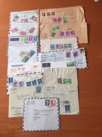+++ Sammlung 90 Briefe Und Postkarten Viel Luftpost Iran  +++ - Briefmarken