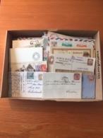 +++ Wunderbox Sammlung 500+ Briefe/Postkarten/Enveloppen Alle Welt  +++ - Collections (without Album)
