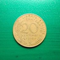 20 Centimes Münze Aus Frankreich Von 1978 (sehr Schön) - E. 20 Centimes