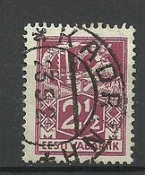 ESTLAND Estonia 1922 O KADRINA Auf Michel 35 A - Estland