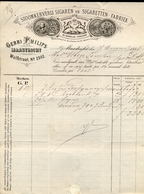 Sigaren - Sigaretten Fabriek Maastricht - Gebr. Philips - Nota - 1888 - Holanda