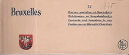 BELGIQUE BRUXELLES BRUSSELS - LOT DE 12 VIEILLES CARTES POSTALES  Vers 1920 - Lots, Séries, Collections