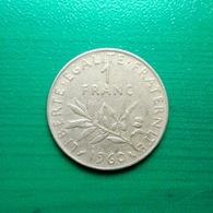 1 Franc Münze Aus Frankreich Von 1960 (schön) - H. 1 Franc