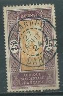 Timbre Dahomey Obliteration Zagnanado - Dahome (1899-1944)