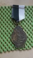 Medaille :Netherlands  -  10 Jaar 1962 W.S.V Starveld Geesteren (GLD) 1972  / Vintage Medal - Walking Association - Pays-Bas