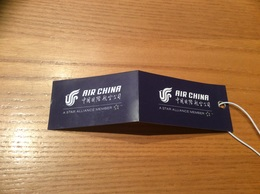 Etiquette BAGAGE «AIR CHINA» (Compagnie Aérienne) - Billetes De Transporte