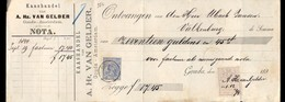Van Gelder - Gouda - Amsterdam - Valkenburg - Kleinrond 1894 - Nederland