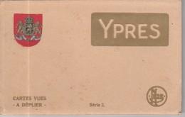 BELGIQUE 8900 YPRES LEPER - LOT DE 10 VIEILLES CARTES POSTALES Vers 1920 - België