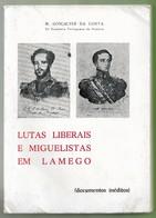 Lamego - Luta Liberais E Miguelistas Em Lamego  (Livro Com As Páginas Por Abrir) - Boeken, Tijdschriften, Stripverhalen