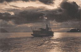 Bateau Sur Le Léman - Boot -  Dampfschiff - Steamboat - Boat -  Barca - Bateau à Vapeur - VD Vaud
