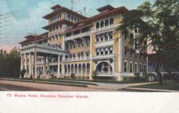 Honolulu Hawaii, Moana Hotel, C1900s Vintage Postcard - Honolulu