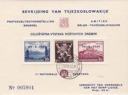Liberation Of Tsjechoslowaki - Blocs-feuillets