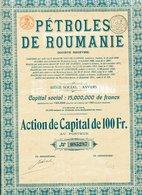 Roumanie: PÉTROLES De ROUMANIE - Acciones & Títulos