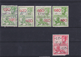 Lotje Fiscale Zegels     Kaart A 671 - Timbres