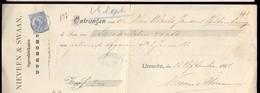 Brussel - Waucquez & Co. - Verviers - Valkenburg - Rosendaal - W. Laane - België