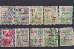 Lotje Fiscale Zegels     Kaart A 672 - Timbres