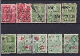 Lotje Fiscale Zegels     Kaart A 673 - Revenue Stamps