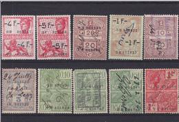 Lotje Fiscale Zegels     Kaart A 674 - Revenue Stamps