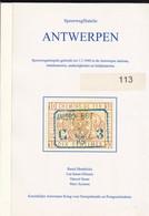 BELGIQUE SPOORWEGFILATELIE : ANTWERPEN  Par Hendrickx, Sauer, Driesens 150 Blz - Chemins De Fer