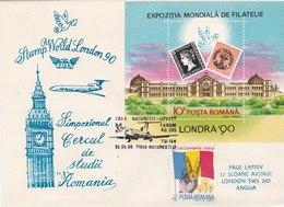 London 90 - Expositions Philatéliques