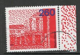 Duitsland, Mi 3449 Jaar 2019,  100 Jahre Unoversität Hamburg,  Hoge Waarde, Mooi  Gestempeld, - [7] République Fédérale